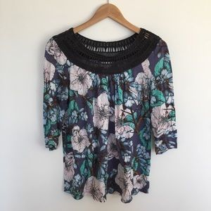 Anthro Meadow Rue Top